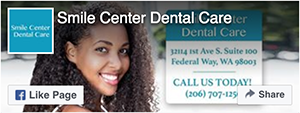 Facebook Like - Smile Center Dental Care